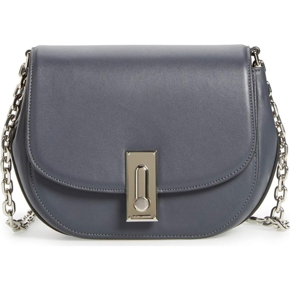 c3e164dc8dd6 MARC JACOBS West End the Jane Leather Saddle Bag